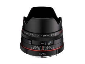 Обектив Pentax SMC HD DA 15/F4 ED AL - Limited Edition