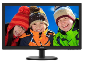 "Monitor Philips 223V5LHSB2/00 21.5"" LED, negru"