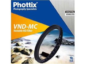 Phottix spremenljivi VND-MC filter 72 mm