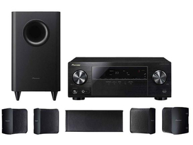 Set home cinema Pioneer HTP-072 VSX-324 amplificator, subwoofer S-21P, set boxe S-11