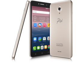 "Alcatel Pixi 4 (6"") (Dual SIM), Gold (Android)"