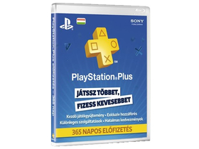 PlayStation Plus Subscription Card 365-Tage (PS Network)