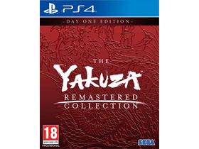 The Yakuza Remastered Collection - Day 1 Edition PS4 játékszoftver