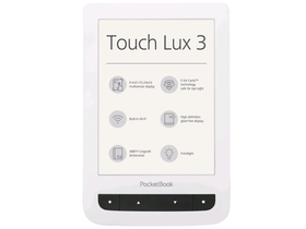 PocketBook Touch Lux 3 626 ebook čítačka, White
