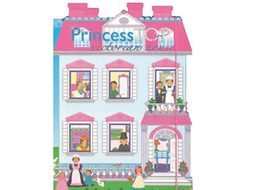 Princess TOP - Victorian house (blue)