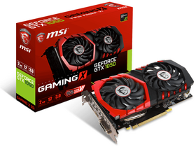 Placa video MSI nVidia GTX 1050 2GB GDDR5 - GeForce GTX 1050 GAMING X 2G