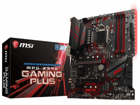 MSI S1151 MPG Z390 Gaming Plus Intel Z390, ATX alaplap