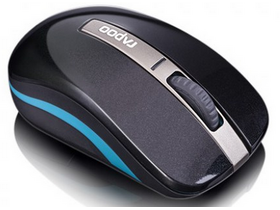 Mouse wireless dual-mode Rapoo 6610p Bluetooth, negru