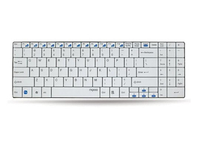 Tastatură wireless Rapoo E9070 Slim numpad, alb
