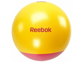 Гимнастическа топка Reebok 65cm, жълта-маджента (RB-RAB-40016MG)