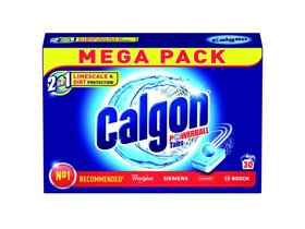 Tablete anticalcar Calgon 2in1, 30 buc.