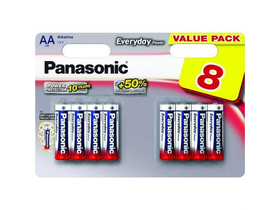 Panasonic Everyday Power LR6EPS-8BW AA ceruza 1.5V batérie (8ks)