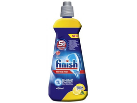 Finish Shine & Protect citromos gépi öblítőszer, 400 ml