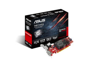 Asus AMD HD 5450 1GB DDR3 videókártya - HD5450-SL-1GD3-L-V2