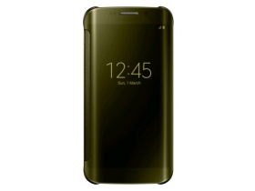 Toc Samsung EF-ZG925BFEG Galaxy S6 Edge transparent cover, gold