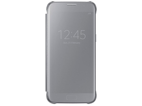 Samsung Galaxy S7 clear view cover, argintiu