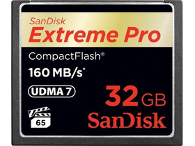 Карта памет SanDisk Secure Digital Extreme Pro CompactFlash 32GB  (160 MB/s)