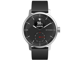 Withings Scanwatch 42 мм смарт часовник, черен