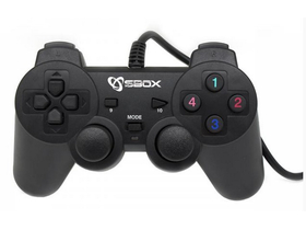 Gamepad Sbox GP-2009 PS2,PS3,PC  Digital USB