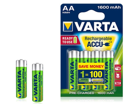 Baterie Varta AA  1600mAh Ready2Use, 2 buc.