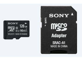 SONY Secure Digital Micro 128Gb Cl10 UHS-I U1 memóriakártya (SRG1UYA)+ SD adapter