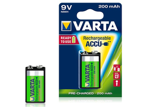 Varta E 9V 200mAh Ready2Use akumulator