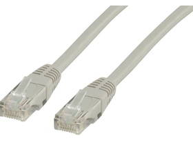 Wiretek UTP CAT5E patch кабел, 5m (сив)