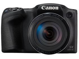 Canon PowerShot SX432 IS fotoaparat, crna