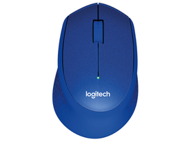 Mouse wireless Logitech M330 Silent Plus, albastru