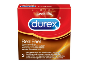 Prezervative Durex Real Feel, 10 buc.