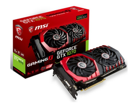 MSI nVidia GTX 1070 8GB GDDR5 grafična kartica - GeForce GTX 1070 GAMING 8G
