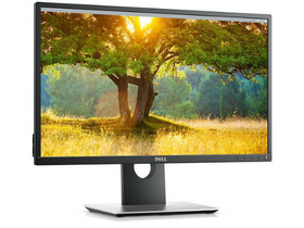"Monitor Dell P2417H 24"" LED, negru"