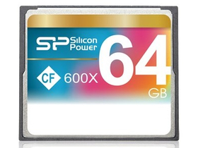 Card de memorie Silicon Power CF 64GB 600x