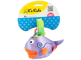 Jucarie de plus Ks Kids Lila, balena
