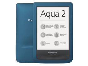 PocketBook 641 Aqua 2 eBook čitač, azur plava