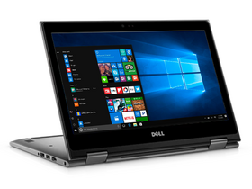 "Laptop Dell Inspiron 5379_5379FI5WA2 2in1 13.3"", gri + Windows 10 Home,  layout tastatura HU"