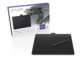 Wacom Intuos 3D Black PT M North digitalizáló tábla
