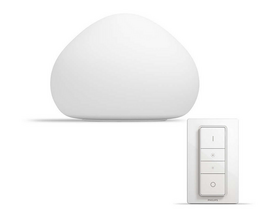 Philips hue Wellner 9,5W E27 LED asztali lámpa White Ambiance + DIMSwitch 4440156P7