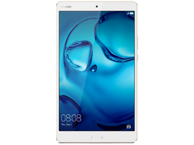 Huawei MediaPad M3 8.0 Wi-Fi + 4G/LTE 64GB tablet, Gold (Android)
