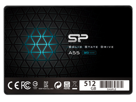 "Silicon Power SATA 2,5"" 512GB A55 SSD meghajtó  (SP512GBSS3A55S25)"