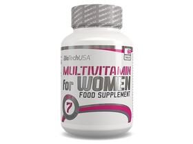 BioTech USA Multivitamin for Women, 60 ks