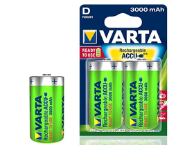 Varta D góliát 3000mAh Ready2Use akku, 2db