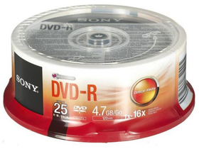 Sony 25DMR47SP DVD-R 16x