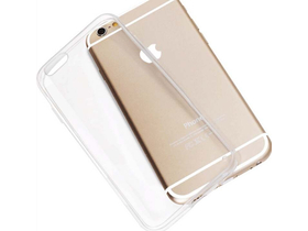Husa silicon Iwil Super Slim pentru  iPhone 6 Plus, transparent