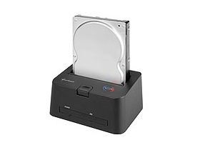 "Sharkoon QuickPort Combo doker za hdd (2,5""-3,5"" Sata-IDE HDD, IDE-ODD)"