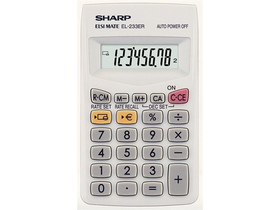 "Calculator Sharp ""EL-233ER"""