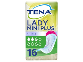 Tena Lady Slim Mini Plus puha inkontinencia betét 16 db