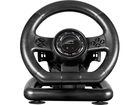 Speedlink Black BOLT Racing Wheel PC kormány, fekete