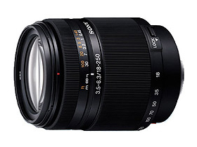 Sony 18-250mm / F3.5-6.3 DT