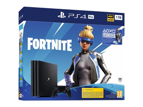 PlayStation® PS4 Pro 1TB konzola, čierna + Fortnite Neo Versa